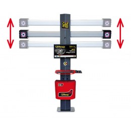 Система подъёма и опускание для регулировки высоты горизонтальной оси