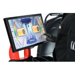 Балансировочный станок  с цифровым дисплеем, полуавтомат MEC 1000 Sonar . Производитель CORMACH, Италия