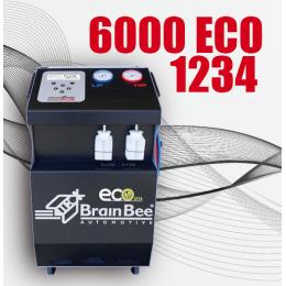Установка для заправки кондиционеров BRAIN BEE CLIMA 6000 ECO 1234 Италия (МОДЕЛЬ БЕЗ ПРИНТЕРА)