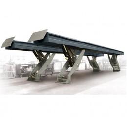 Параллелограммный ножничный грузовой подъемник SF8825.8, напольный