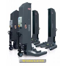Комплект из 6-ти подкатных колонн г/п 6х7,5т, электрогидравлический, беспроводной