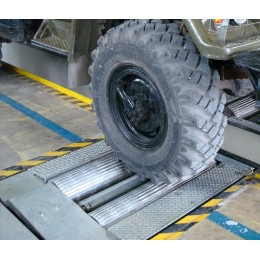 Комплект стальных роликов тормозного стенда для грузовых автомобилей