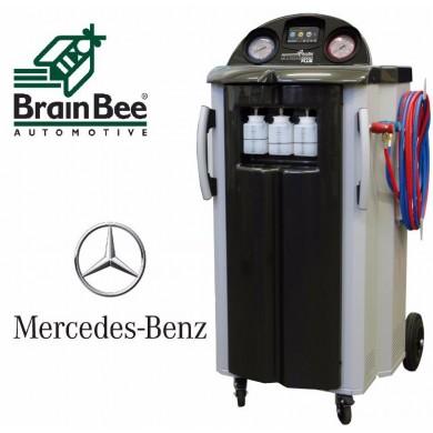 Установка для заправки кондиционеров CLIMA 9000D -1234 (Mercedes Benz)