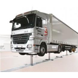 Подъемник двух плунжерный, г/п 2х 15 тонн для грузовых автомобилей