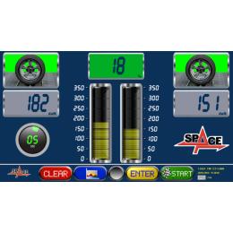 Тормозной стенд, нагрузка на ось 2,5/4т с датчиками веса