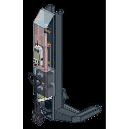 Комплект из 4-х подкатных колонн г/п 4х5,5 т электрогидравлический
