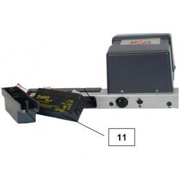 Аккумулятор измерительных голов стендов сход развал, код 10066