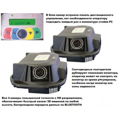 Стенд регулировки сход развала 3D, без компенсации биения